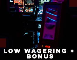 ukbonuscasino.com low wagering + bonus